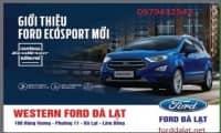 ''Chương trình GIỚI THIỆU FORD ECOSPORT 2018 & TEST DRIVE ''